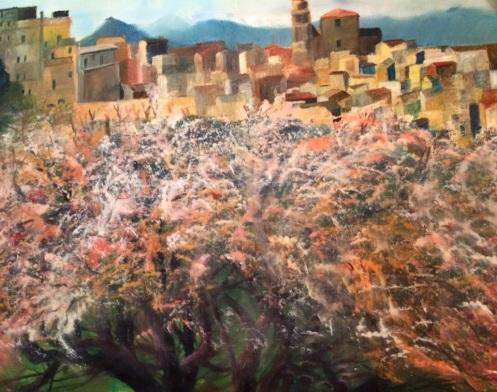Almond Blossoms, Sicily